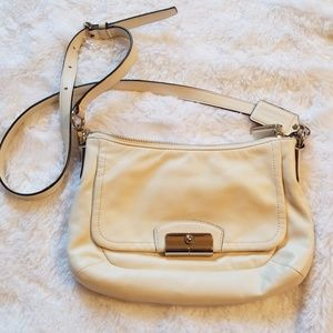 Coach Kristen east west leather purse